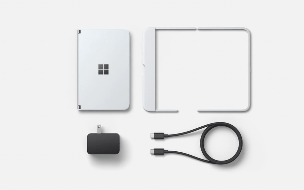 Itens do Surface Duo